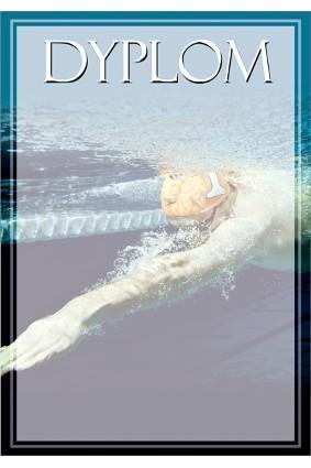 Dyplom papierowy – pływanie