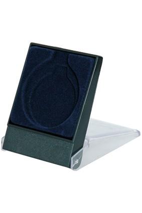 Etui plastikowe niebieskie na medal 7×8.9 cm