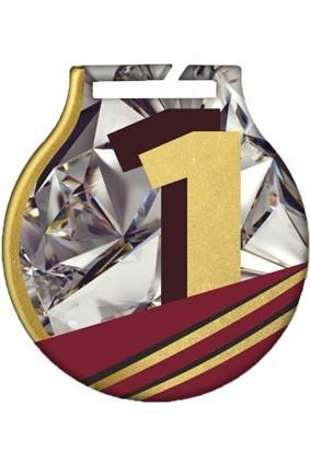 Medal stalowy z usługą Q – OGÓLNY – ZŁOTY