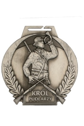 Medal – Myślistwo Król Pudlarzy