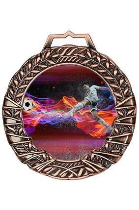 Medal brązowy z nadrukiem kolorowym
