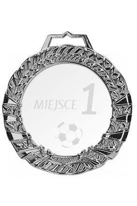 Medal srebrny z grawerem