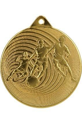 Medal stalowy piłka nożna 70 mm