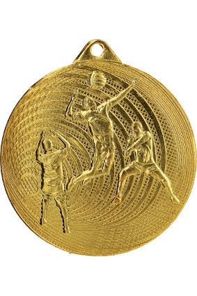 Medal stalowy siatkówka 70 mm