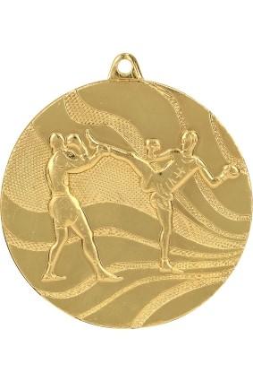 Medal – kick boxing – 50 mm