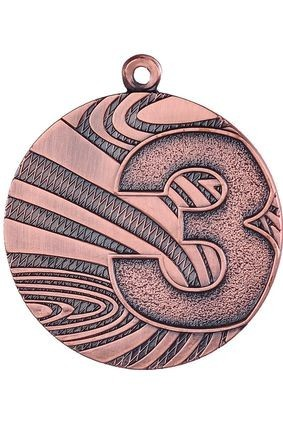 Medal  brązowy – 3 miejsce  – 40 mm