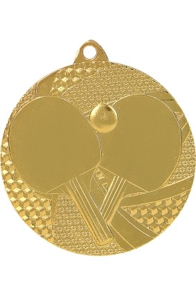 Medal – tenis stołowy – 50 mm