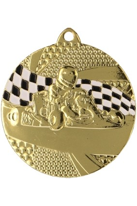 Medal gokart – 50 mm