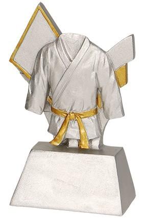 Figurka odlewana -karate