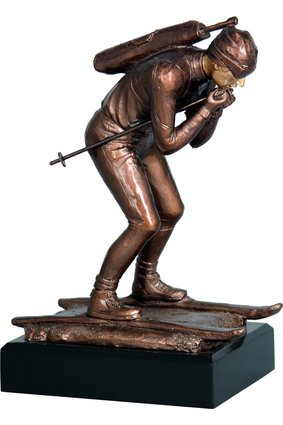Figurka odlewana – biathlon