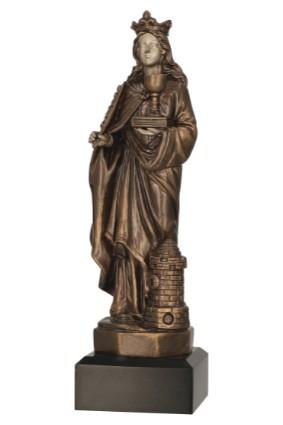 Figurka odlewana – Św Barbara