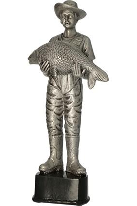 Figurka odlewana – wędkarstwo