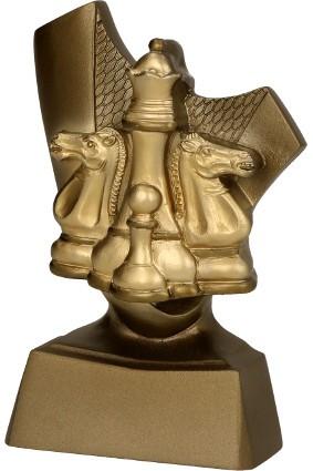 Figurka odlewana szachy