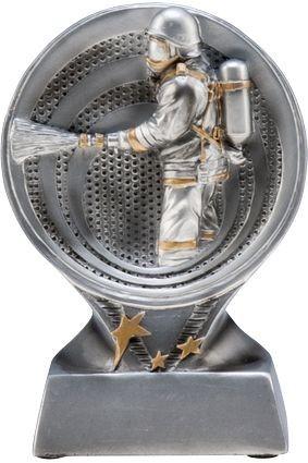 Figurka odlewana – strażactwo