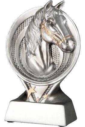 Figurka odlewana koń/jeździectwo