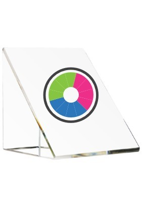 Nadruk kolorowy na wybranym szkle