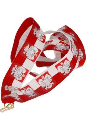Wstążka 22 mm – Flaga Polski