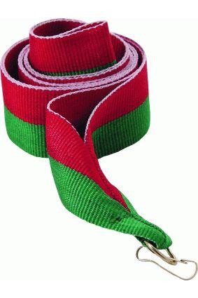 Wstążka 22 mm – czerwono-zielona