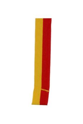 Wstążka 20 mm – żółto – czerwona