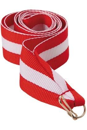 Wstążka 11 mm – czerwono-biało-czewona